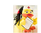 Esculenta Ente Krankenschwester